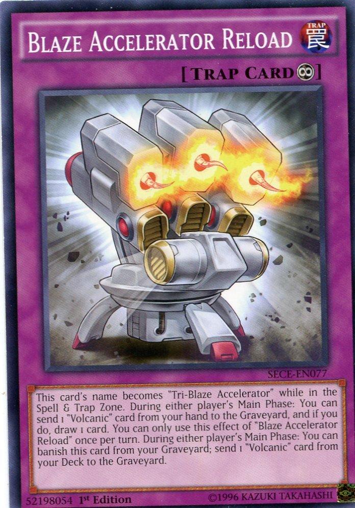 Yugioh Secrets of Eternity Blaze Accelerator Reload, SECE-EN077