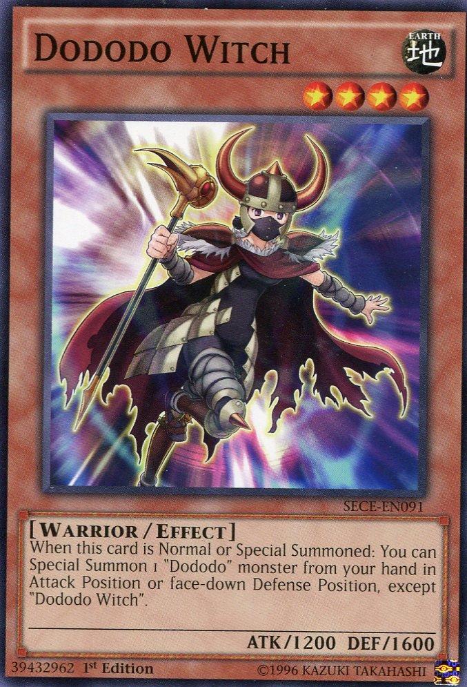 Yugioh Secrets of Eternity Dododo Witch, SECE-EN091