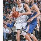 2015 Hoops Basketball Card #159 Dirk Nowitzki