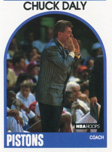 1989 Hoops Basketball Card #11 Chuck Daly