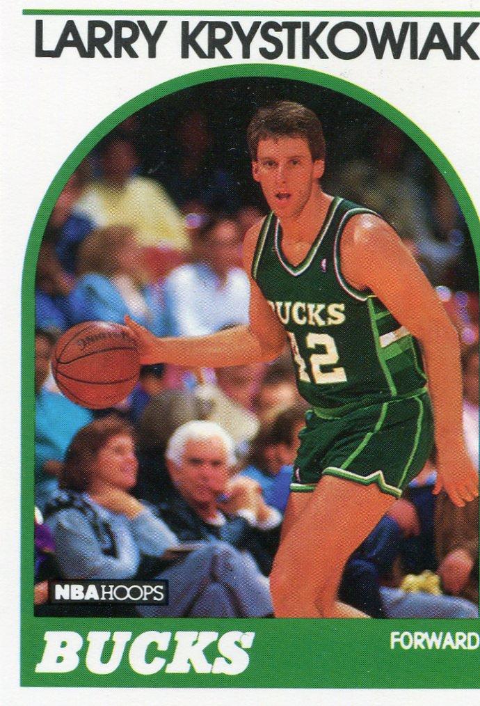 1989 Hoops Basketball Card #258 Larry Krystkoviak
