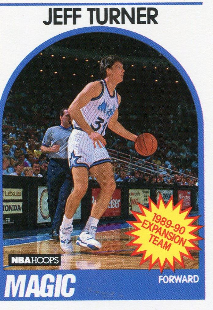 1989 Hoops Basketball Card #322 Jeff Turner
