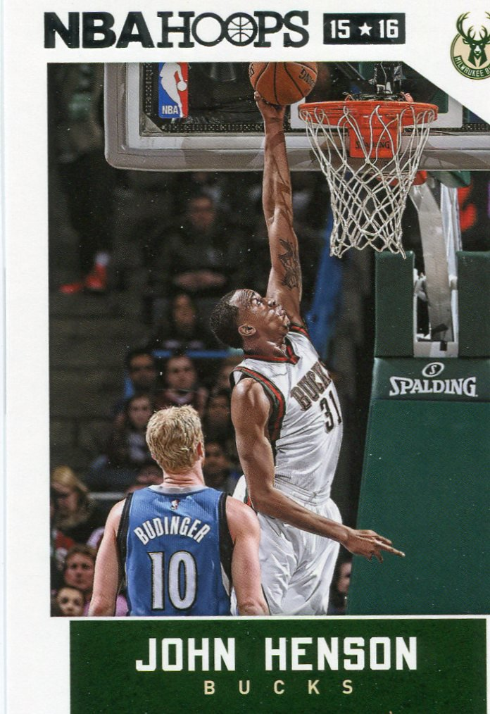 2015 Hoops Basketball Card #193 John Henson
