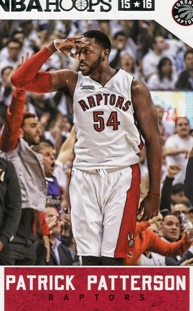 2015 Hoops Basketball Card #196 Patrick Patterson