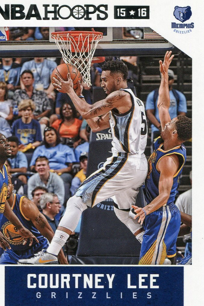 2015 Hoops Basketball Card #217 Courtney Lee