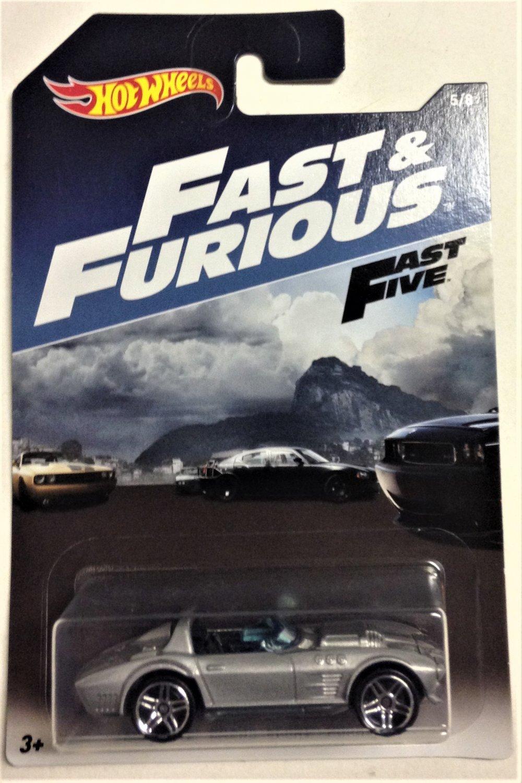 2017 Hot Wheels Fast & Furious #5 Corvette Grand Sport Roadster