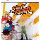 Nano Metalfigs Figures Street Fighter #SF04 Guile Jada Toys Die-Cast Metal