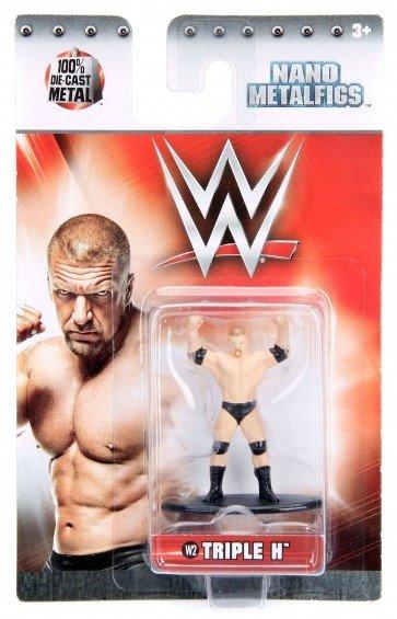 Nano Metalfigs Figures WWE #W02 Triple H Jada Toys Die-Cast Metal