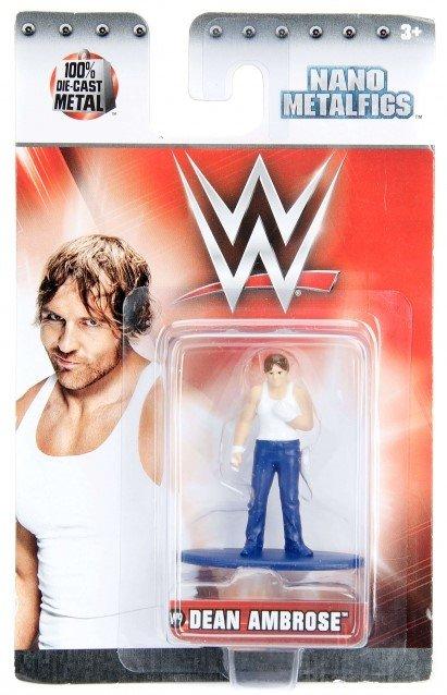 Nano Metalfigs Figures WWE #W09 Dean Ambrose Jada Toys Die-Cast Metal