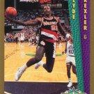 1992 Fleer Basketball Card #270 Clyde Drexler