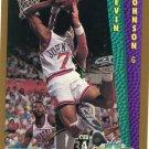 1992 Fleer Basketball Card #282 Kevin Johnson