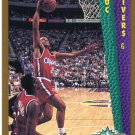 1992 Fleer Basketball Card #283 Doc Rivers