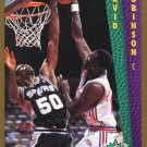 1992 Fleer Basketball Card #288 David Robinson