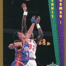 1992 Fleer Basketball Card #289 Dennis Rodman