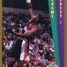 1992 Fleer Basketball Card #293 Jerome Kersey