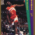 1992 Fleer Basketball Card #295 Stacey Augman