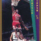 1992 Fleer Basketball Card #299 Scottie Pippen