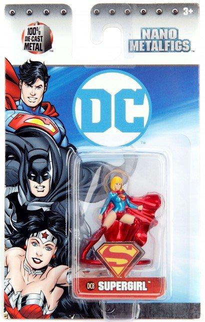 Nano Metalfigs Figures DC Comics Supergirl # DC8 Jada Toys Die-Cast Metal