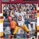 2016 Donruss Football Card #292 Kirk Cousins