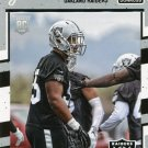 2016 Donruss Football Card #321 Jihad Ward