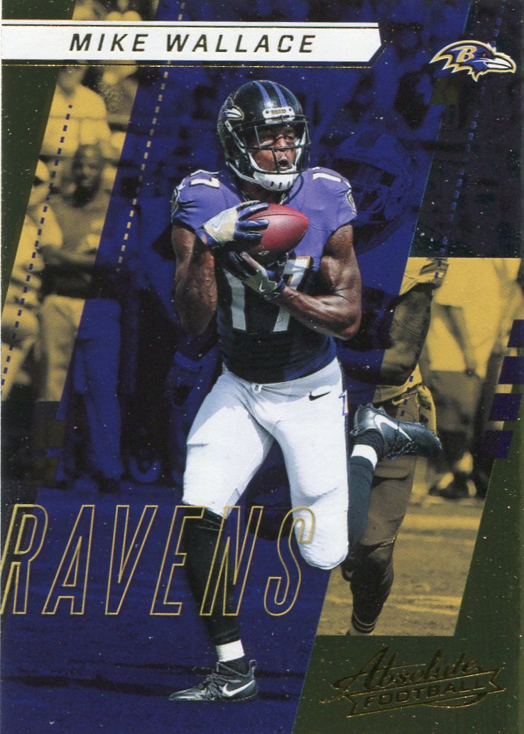 2017 Absolute Football Card #48 Mike Wallace