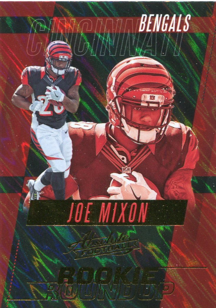 2017 Absolute Football Card Rookie Round-Up #32 Joe Mixon