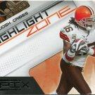 2010 Epix Highlight Zone Football Card #4 Josh Cribbs