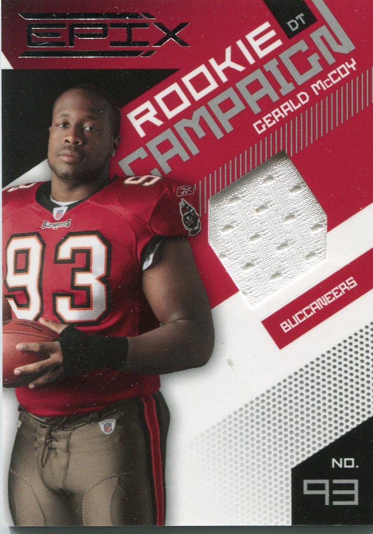 2010 Epix Rookie Campaign Football Card #9 Gerald McCoy