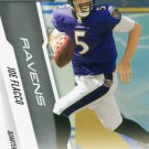 2010 Prestige Football Card #15 Joe Flacco