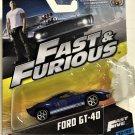Mattel 1:55 Fast & Furious #32 Ford GT40