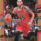 2017 Donruss Basketball Card #24 Denzel Valentine