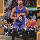 2017 Donruss Basketball Card #66 Jordan Clarkson