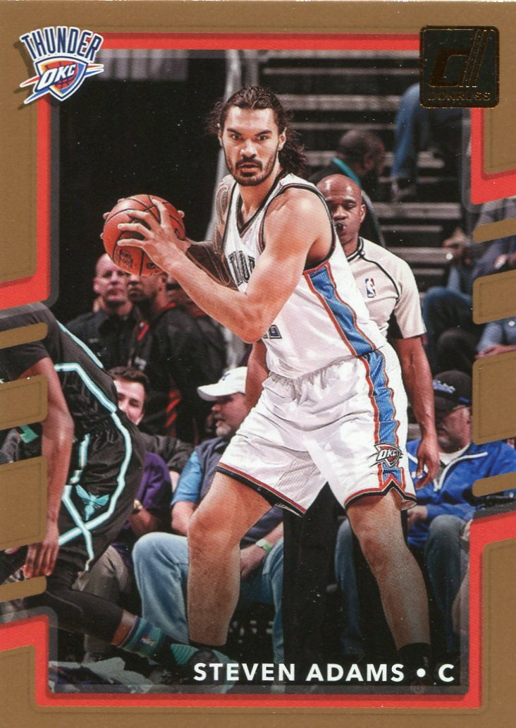 2017 Donruss Basketball Card #103 Steven Adams