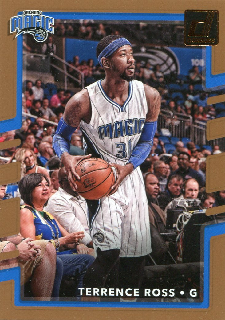 2017 Donruss Basketball Card #107 Terrence Ross