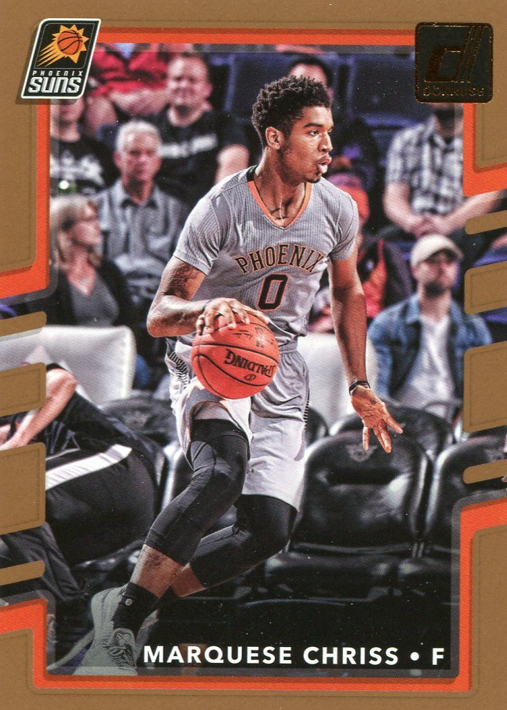 2017 Donruss Basketball Card #118 Marquese Chriss