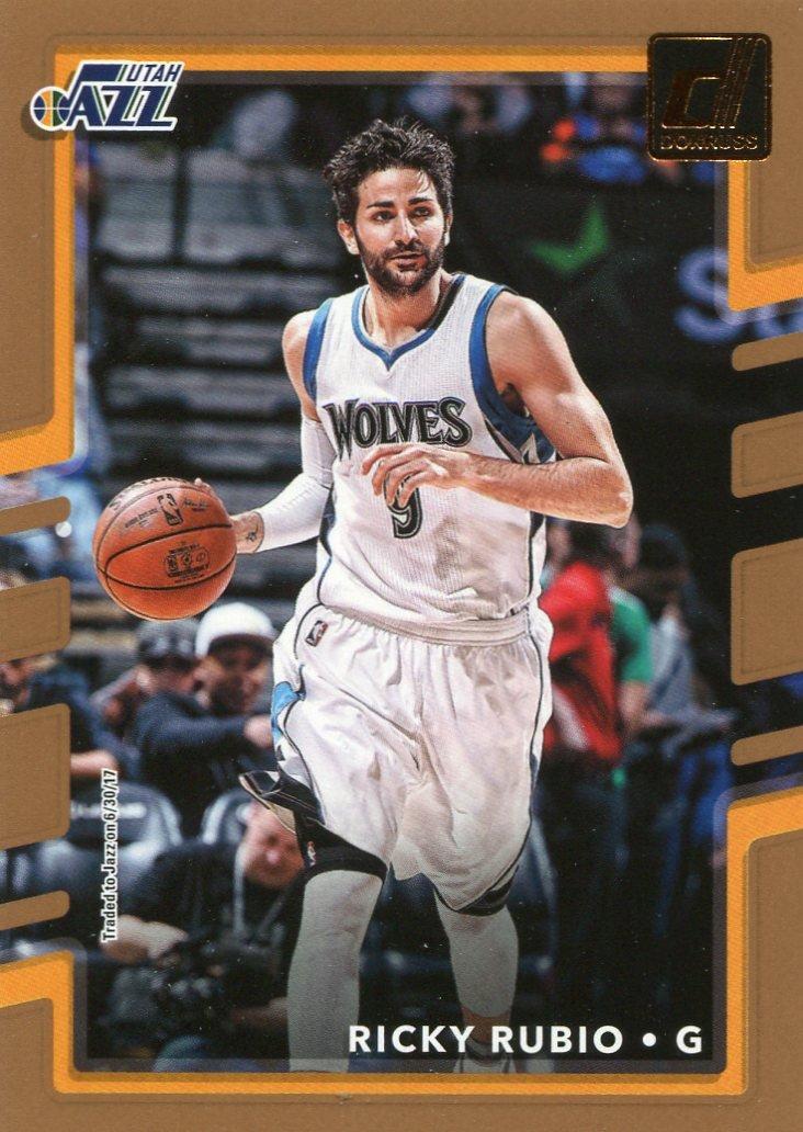2017 Donruss Basketball Card #145 Ricky Rubio