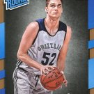 2017 Donruss Basketball Card #155 Rade Zagorac