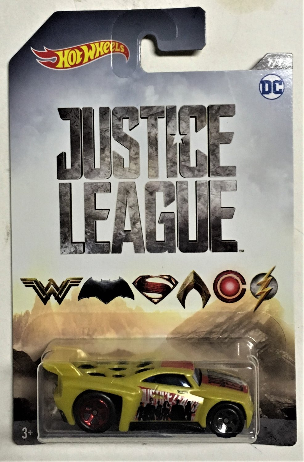2017 Hot Wheels Justice League #7 Bassline