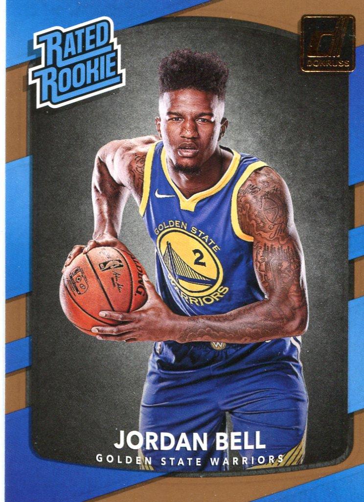 2017 Donruss Basketball Card #163 Jordan Bell