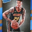2017 Donruss Basketball Card #182 John Collins