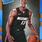 2017 Donruss Basketball Card #187 Bam Adebayo