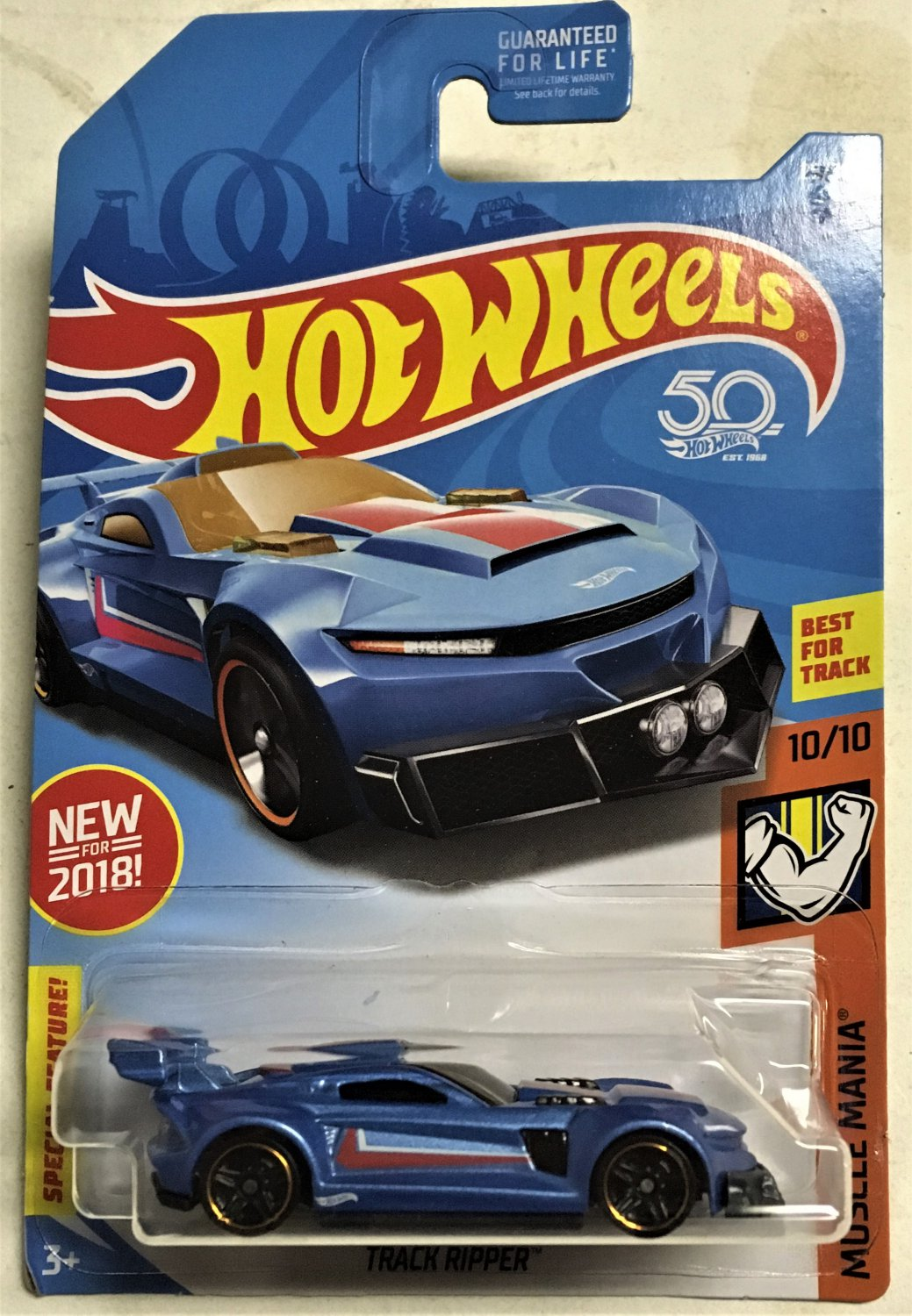 2018 Hot Wheels 29 Track Ripper