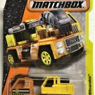 2017 Matchbox #51 MBXcavator