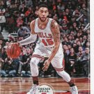 2017 Hoops Basketball Card #21 Denzel Valentine
