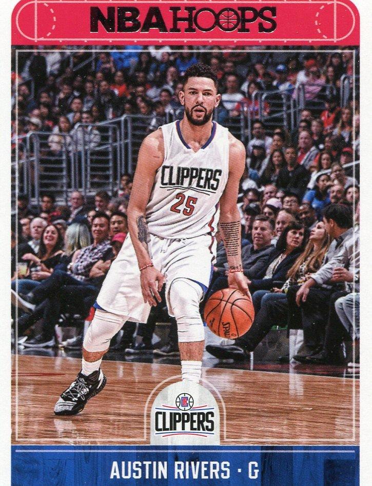 2017 Hoops Basketball Card #43 Austin Rivers