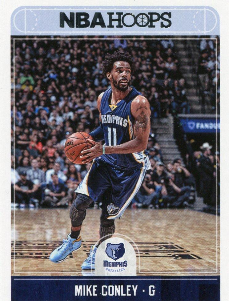 2017 Hoops Basketball Card #50 Mike Conley