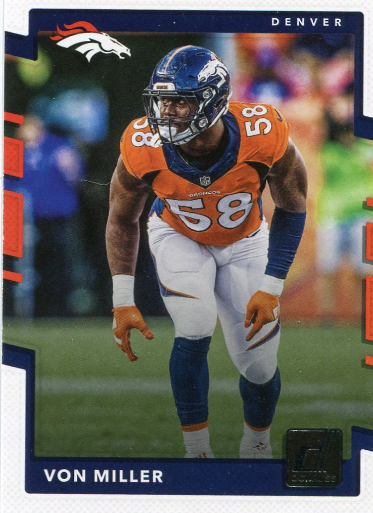 2017 Donruss Football Card #164 Von Miller