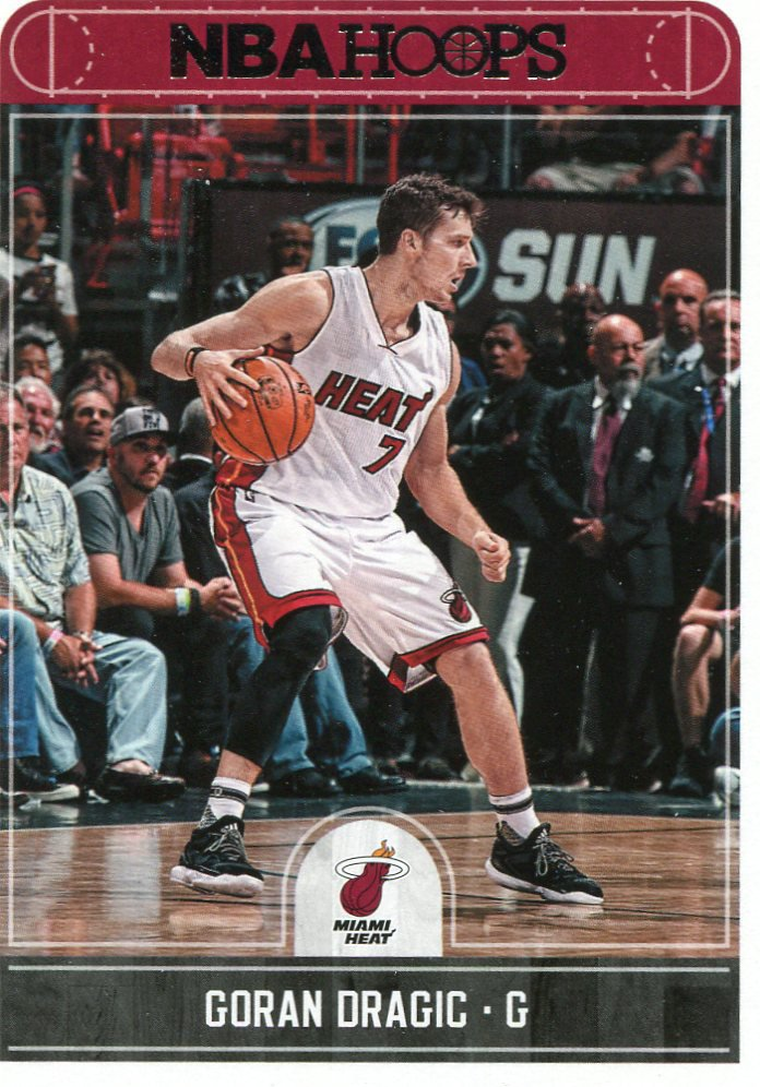 2017 Hoops Basketball Card #67 Goran Dragic