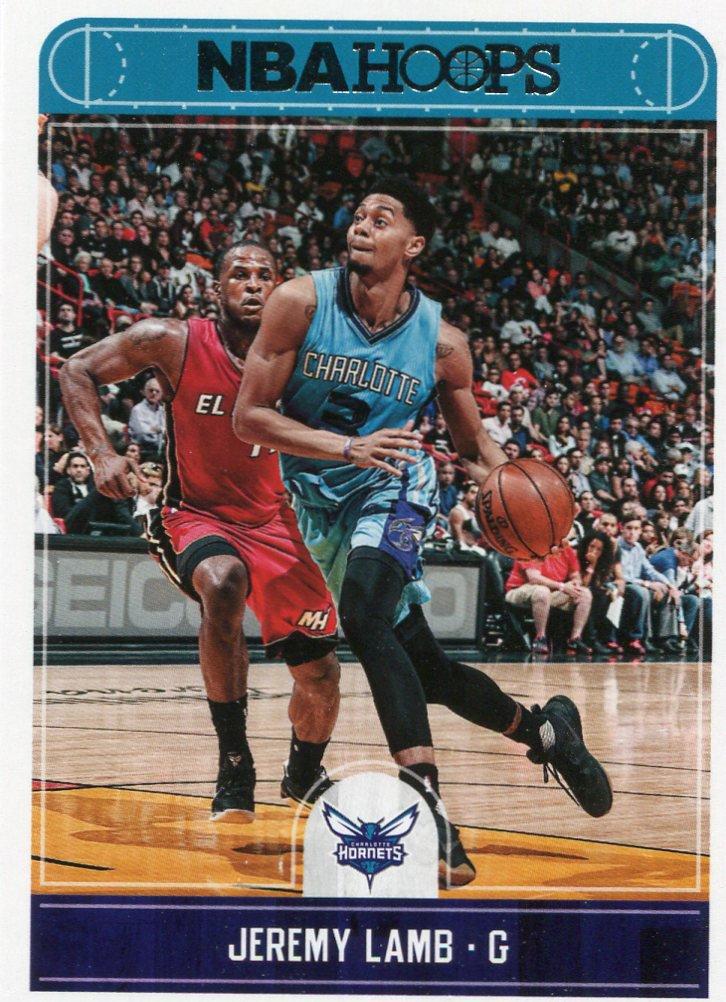 2017 Hoops Basketball Card #79 Jeremy Lamb