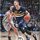 2017 Hoops Basketball Card #81 Gordon Hayward
